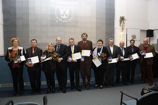 Ocenění při příležitosti 20. výročí HK ČR