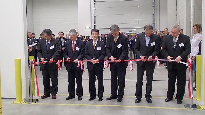 TORAY slavnostně zahájila v nové hale výrobu tiskových desek pro bezvodý ofset
