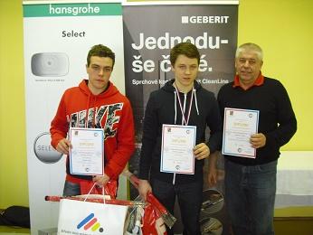 Instalatéři ze Švehlovky již potřetí nejlepší v Olomouckém kraji