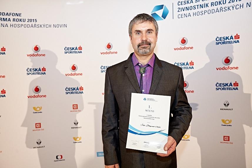 Nominace OHK v Prostějově vyšla! Ivo Stawaritsch umělecký kovář z Kostelce na Hané je nejlepším živnostníkem roku v Olomouckém kraji!