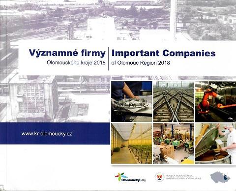 Vyšlo již čtvrté vydání publikace Významné firmy Olomouckého kraje