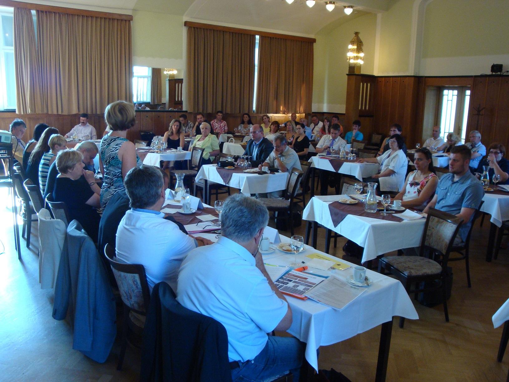 Setkání manažerů a podnikatelů s představiteli města Prostějova – nové výzvy v OP PIK, 2.7. v Prostějově