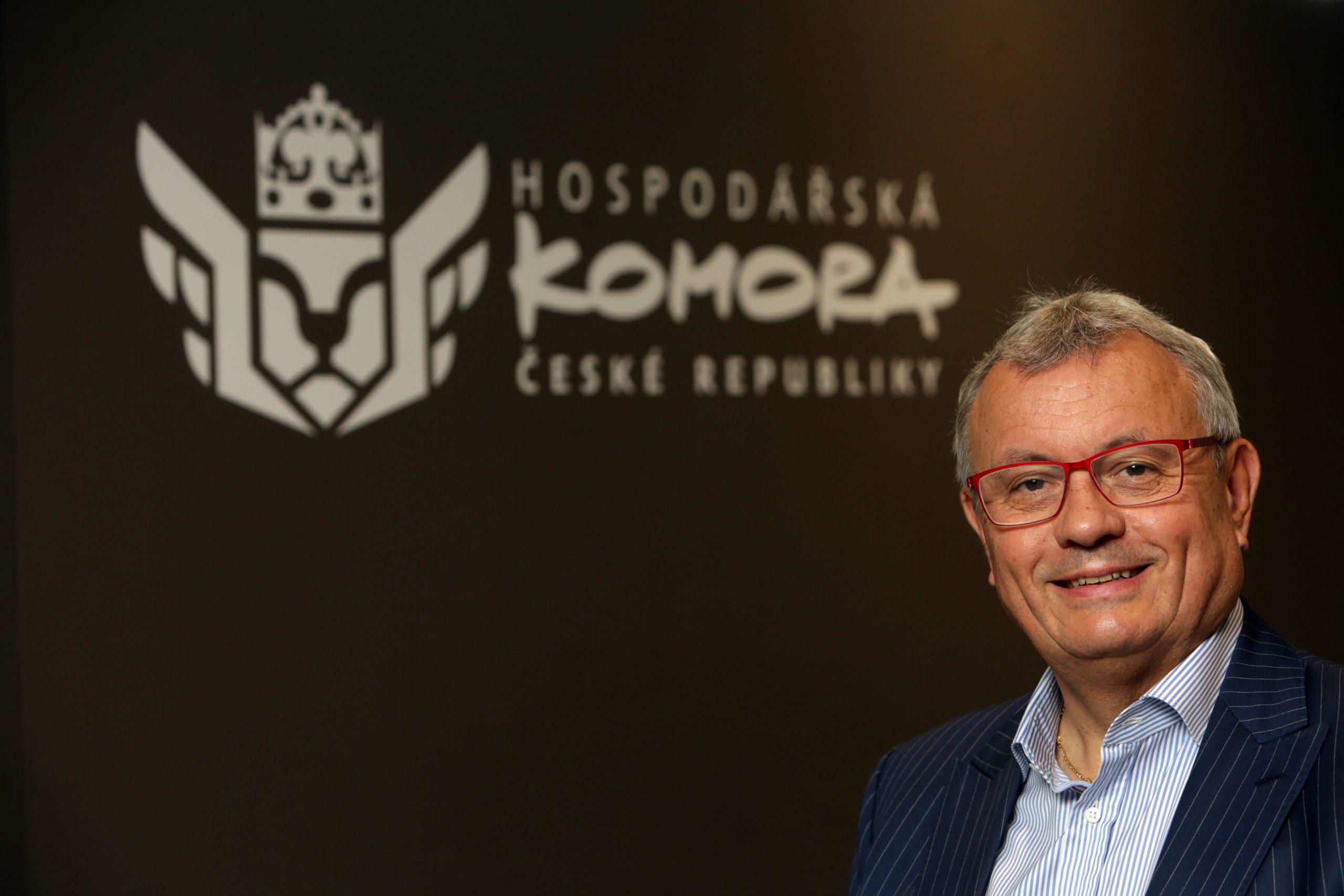 Podnikatelé zvolili za prezidenta Hospodářské komory Vladimíra Dlouhého