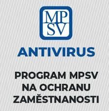Změny programu Antivirus – informace pro zaměstnavatele