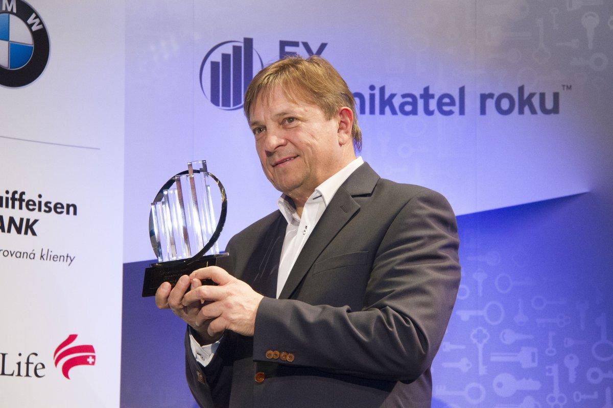 Titul EY Podnikatel roku Olomouckého kraje získal Pavel Koutný
