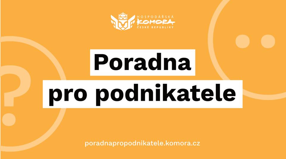 Hospodářská komora České republiky opět spustila poradnu pro podnikatele