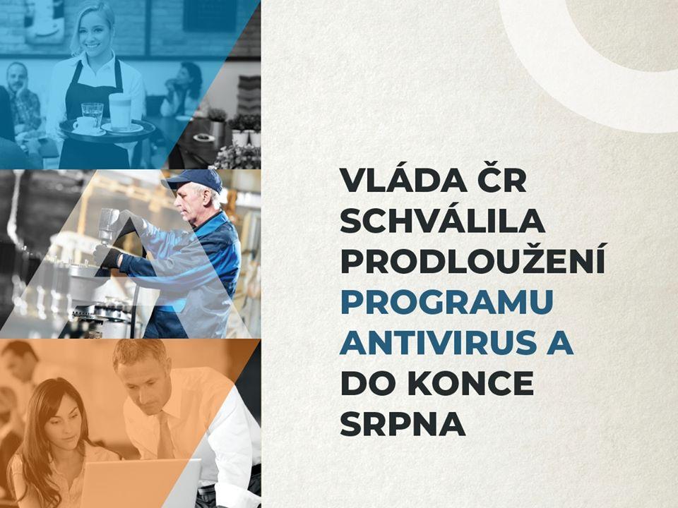 Program Antivirus A se prodlouží do konce srpna